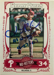 Kevin Millwood Autographed 2013 Topps Gypsy Queen #NH-KM