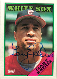 Gary Redus Autographed 1988 Topps #657