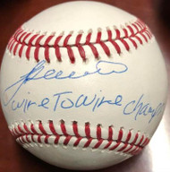 Alex Trevino Autographed ROMLB Baseball Wire to Wire