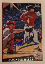 Jason Michaels Autographed 2009 Topps Update #UH290