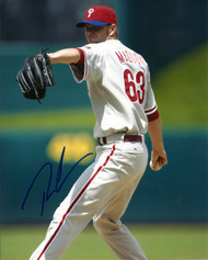 Ryan Madson Autographed Phillies 8 x 10 Photo 9