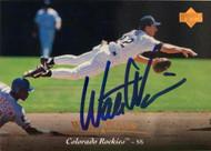 SOLD 6123 Walt Weiss Autographed 1995 Upper Deck #413