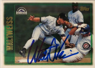 Walt Weiss Autographed 1997 Topps #401