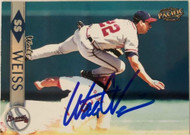 Walt Weiss Autographed 1999 Pacific #44