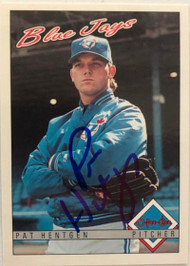 Pat Hentgen Autographed 1993 O-Pee-Chee #245