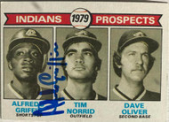 Alfredo Griffin Autographed 1979 Topps #705 Rookie Card