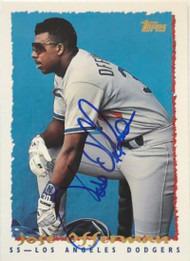 Jose Offerman Autographed 1995 Topps #152
