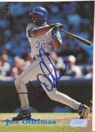 Jose Offerman Autographed 1998 Stadium Club #243