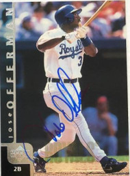 Jose Offerman Autographed 1998 Upper Deck #389