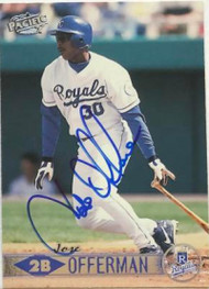 Jose Offerman Autographed 1999 Pacific #209