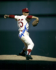 Bobby Shantz Autographed Phillies 8 x 10 Photo 2