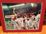 1980 Phillies World Series Celebration 16 x 20 signed by 31 Players All Possible Living