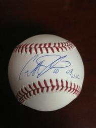 Geoff Jenkins Autographed ROMLB Baseball 08 WSC