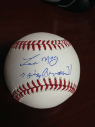 Lee May Autographed ROMLB Baseball Big Bopper