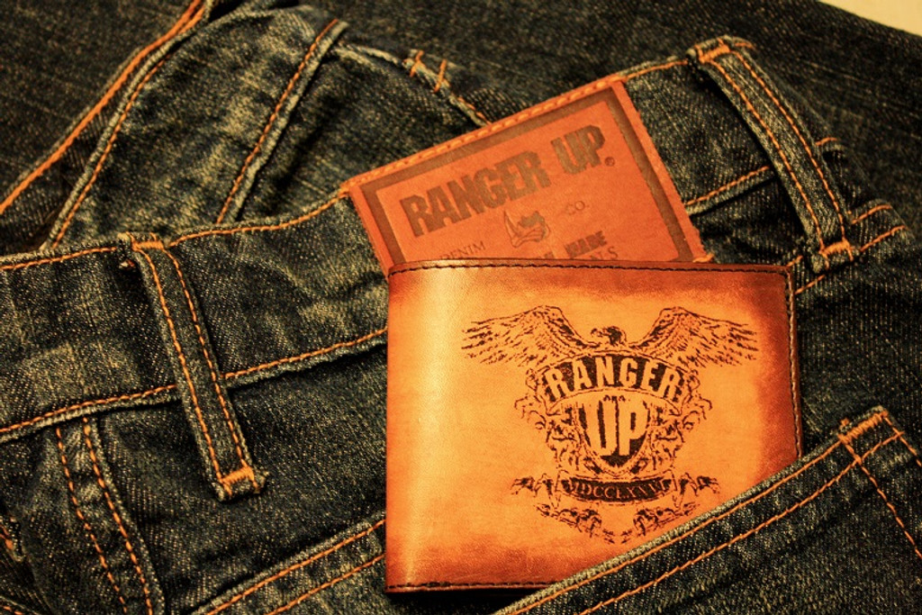 Ranger Up American Made Leather Wallet