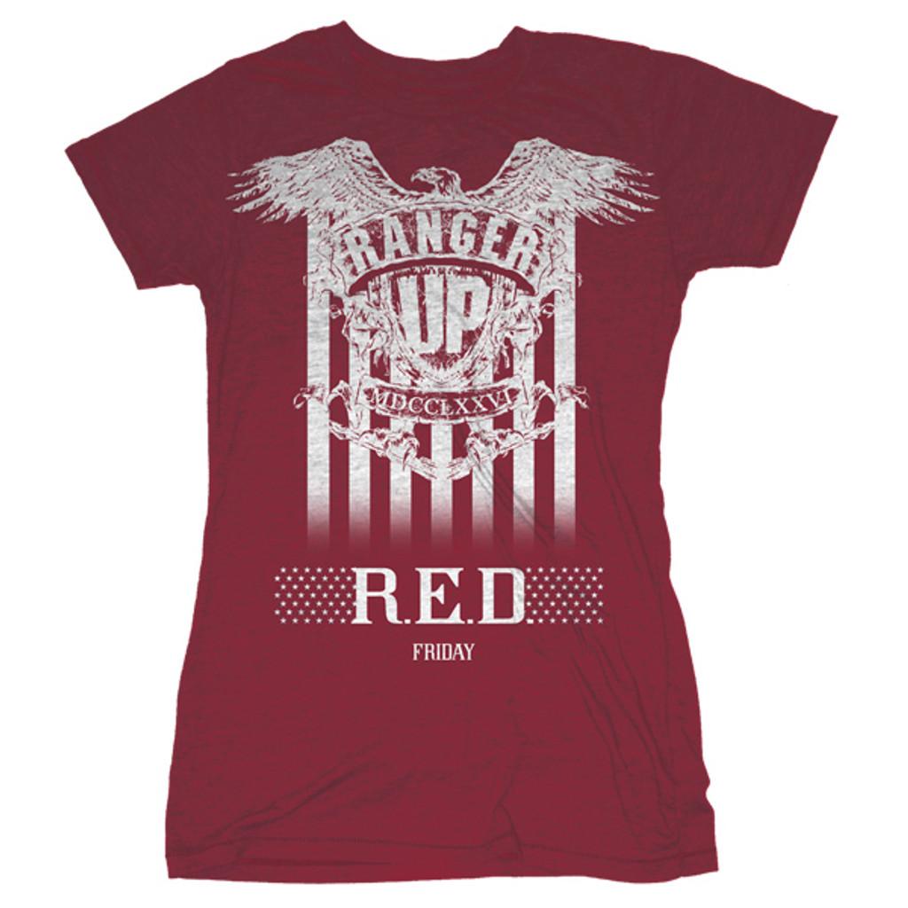 WOMEN'S Red Friday Honor T-Shirt