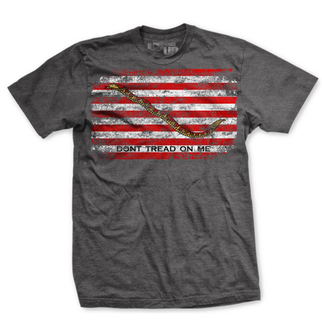 Dont Tread on Me Naval Jack Ultra-Thin Vintage T-Shirt