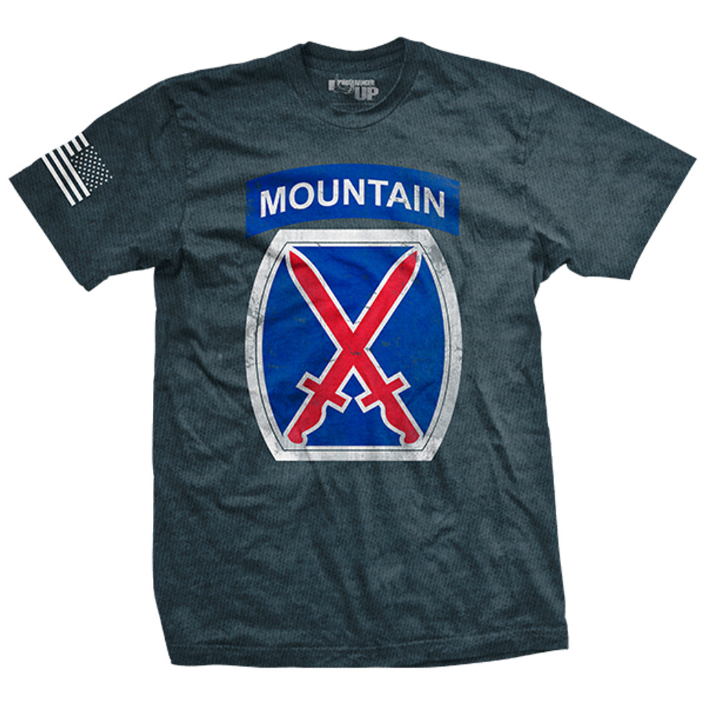 PREORDER 10th Mountain Division Vintage-Fit T-Shirt