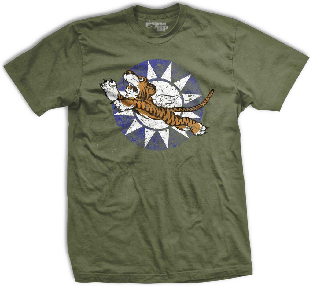 PREORDER Flying Tigers Bomber Vintage-Fit T-Shirt