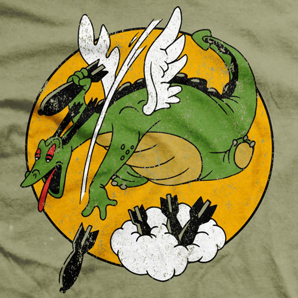 PREORDER Reluctant Dragon Bomber Vintage-Fit T-Shirt