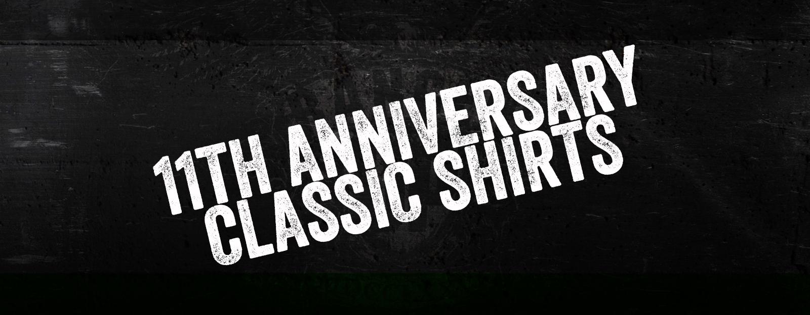 11th Anniversary Shirts