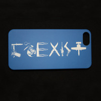 Coexist iPhone 5 Cell Phone Case