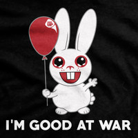 I Am Good At War Ultra-Thin Vintage T-Shirt