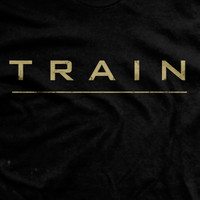 Train Ultra-Thin Vintage T-Shirt