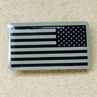 Subdued Combat Flag Pin