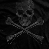 Hoist the Black Flag Ultra-Thin Vintage T-Shirt