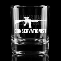Conservationist Whiskey Glass