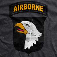 PREORDER 101st Airborne Division Vintage-Fit T-Shirt