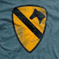 1st Cavalry Division Vintage Fit T-Shirt