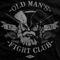 Old Man's Fight Club Normal-Fit T-Shirt
