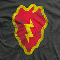 PREORDER 25th Infantry Vintage-Fit T-Shirt