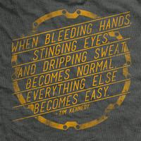 Bleeding Hands Vintage-Fit T-Shirt
