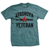 Krasnovia Veteran Vintage-Fit T-Shirt