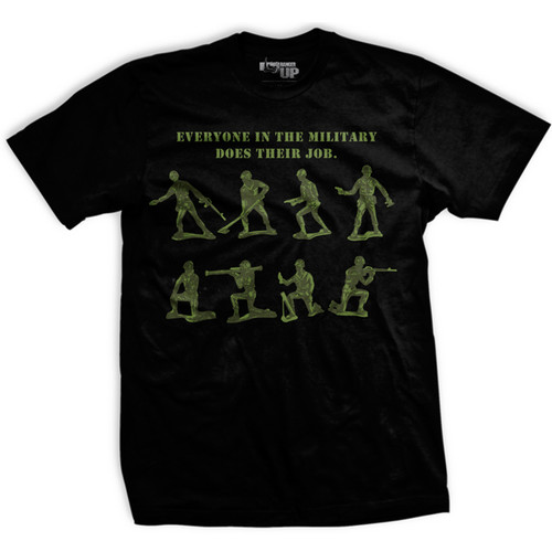 PREORDER - 11th Anniversary Green Army Man Normal Fit T-shirt