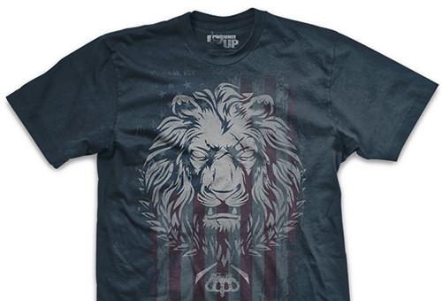 Live As a Lion Ultra-Thin Vintage T-Shirt