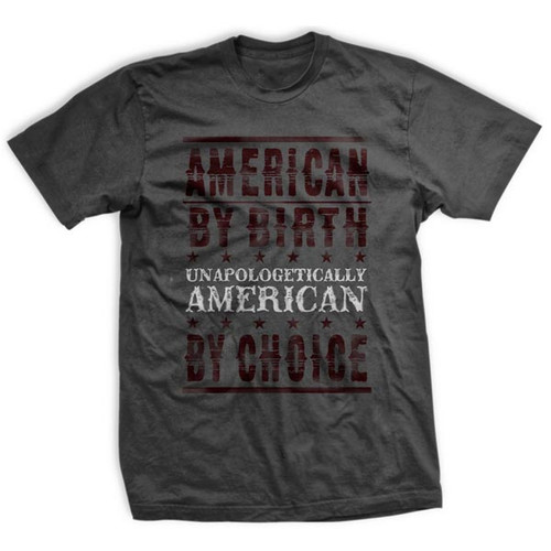 Unapologetically American by Choice Ultra-Thin Vintage T-Shirt