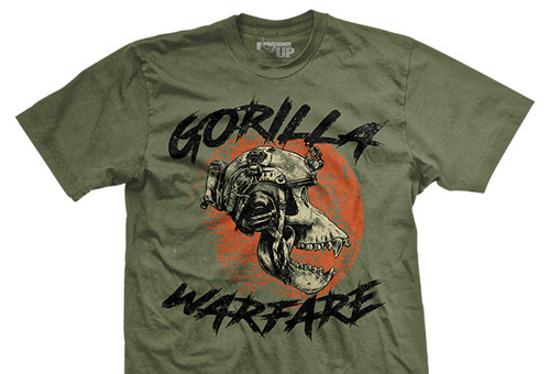 Gorilla Warfare Ultra-Thin Vintage T-Shirt