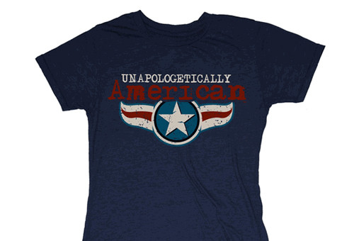 WOMENS Unapologetically American Classic T-Shirt