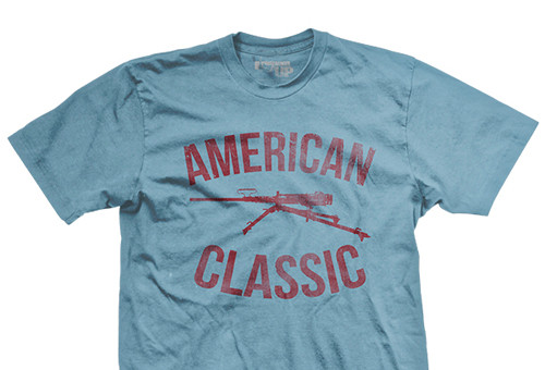 American Classic .50 Cal Ultra-Thin Vintage T-Shirt