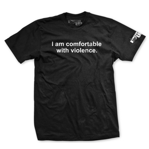 PREORDER 11th Anniversary I'm Comfortable with Violence Normal-Fit T-Shirt