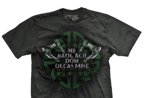 Gaelic Only Evil Ultra-Thin Vintage T-Shirt