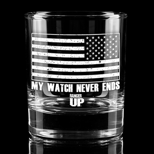My Watch Whiskey Glass