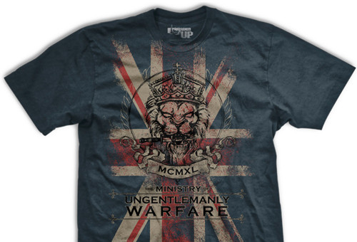 PREORDER The Ministry of Ungentlemanly Warfare Ultra-Thin Vintage T-Shirt