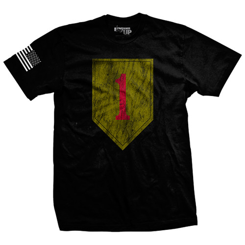 1st Infantry Vintage-Fit T-Shirt
