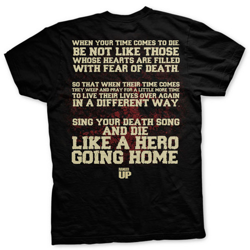 PREORDER 11th Anniversary Sing Your Death Song Vintage T-shirt