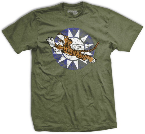 PREORDER Flying Tigers Bomber Vintage-Fit T-Shirt